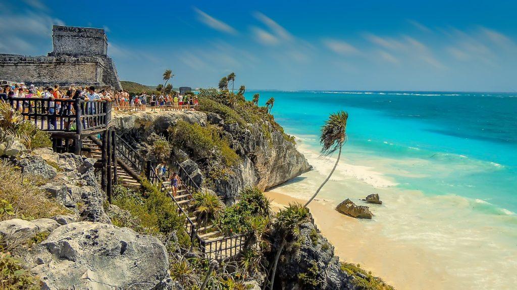 nul doute que les mayas appréciés cette plage magnifique