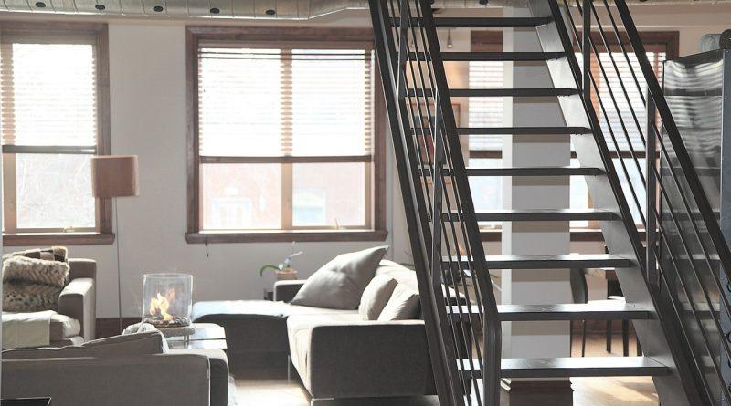 Rénovation appartement avec escalier métal