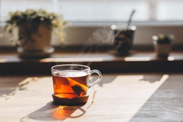 boire le thé à l'anglaise